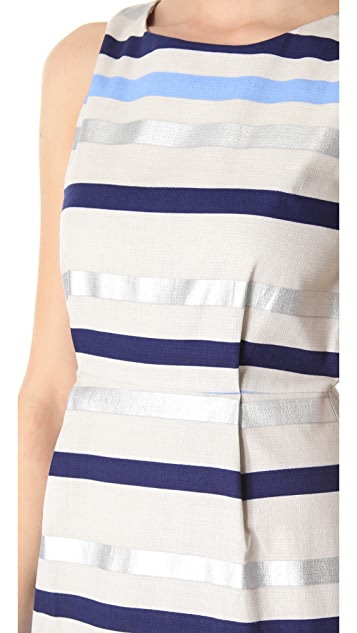 BB Dakota Delaine Stripe Dobby Dress