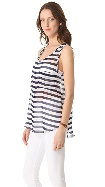 BB Dakota Kellyn Striped Tank