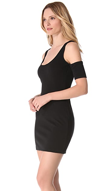 BB Dakota Mayer Ribbed Ponte Dress
