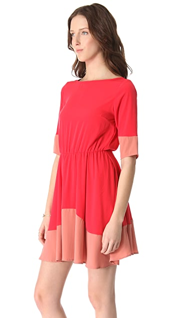BB Dakota Coralie Colorblock Dress