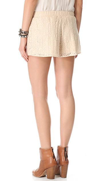 BB Dakota Gigi Lace Shorts