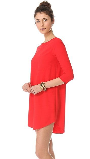 BB Dakota Noland Textured Shift Dress