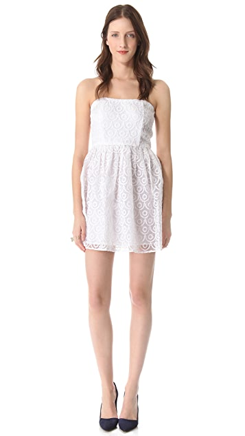 BB Dakota Wesley Strapless Dress