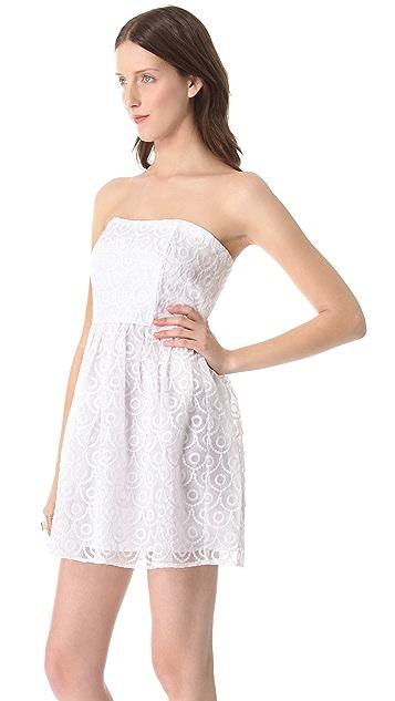 BB Dakota Wesley Strapless Dress