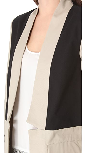BB Dakota Catrall Colorblock Coat