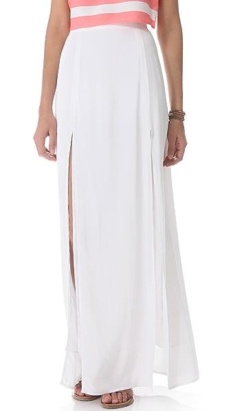 BB Dakota McKinley Maxi Slit Skirt
