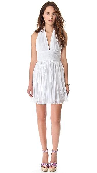 BB Dakota Graciela Pleated Chiffon Dress