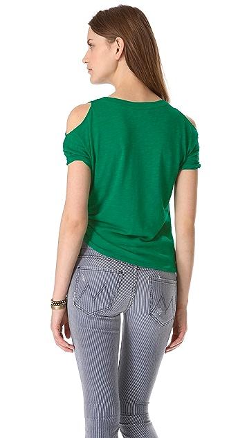 BB Dakota Marat Cutout Shoulder Tee
