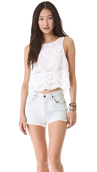 BB Dakota Margo Button Back Tank
