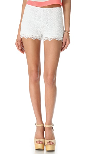 BB Dakota Jennisa Lace Shorts