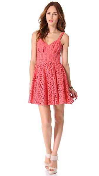 BB Dakota Tibet Eyelet Dress