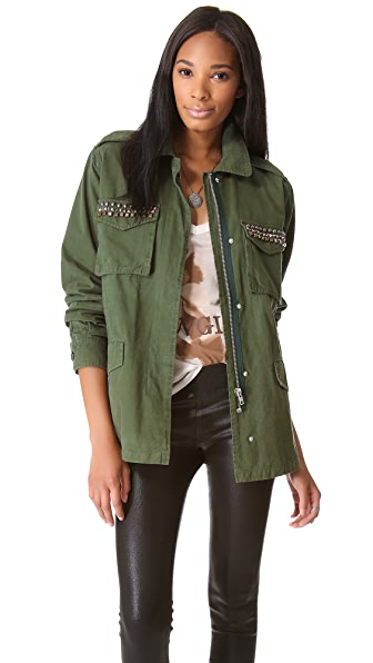 BB Dakota Tawny Army Jacket