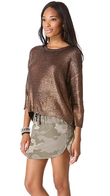 BB Dakota Chey Metallic Sweater