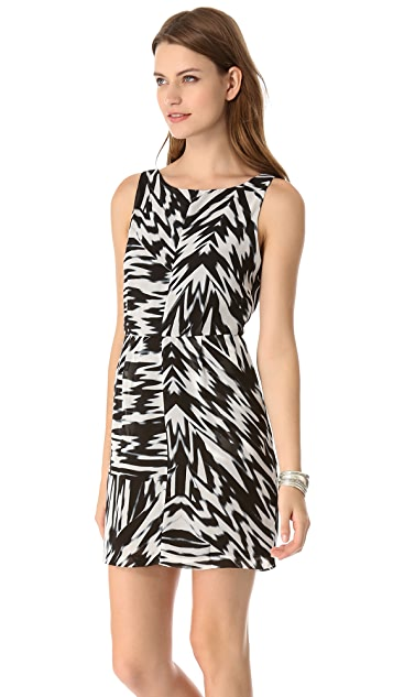 BB Dakota Nicki Pleated Sheath Dress