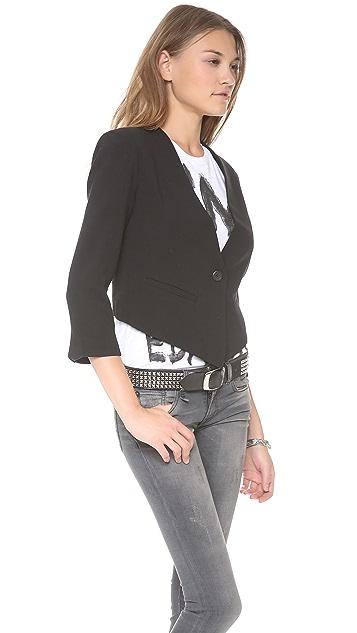 BB Dakota Cory Cropped Back Blazer
