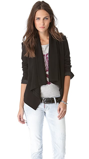BB Dakota Gabrie Crossover Back Blazer