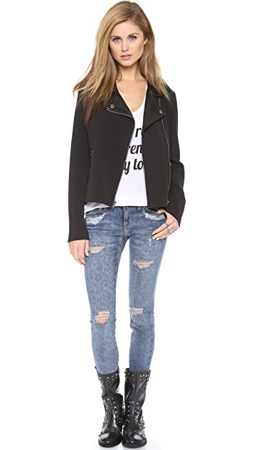 BB Dakota Juliette Moto Jacket