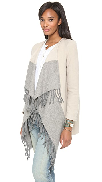 BB Dakota Candace Fringe Coat