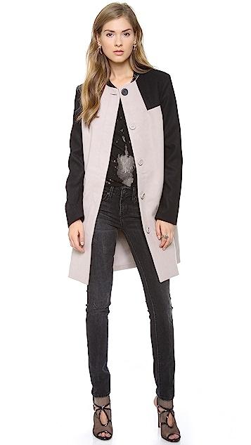 BB Dakota Hana Colorblock Coat