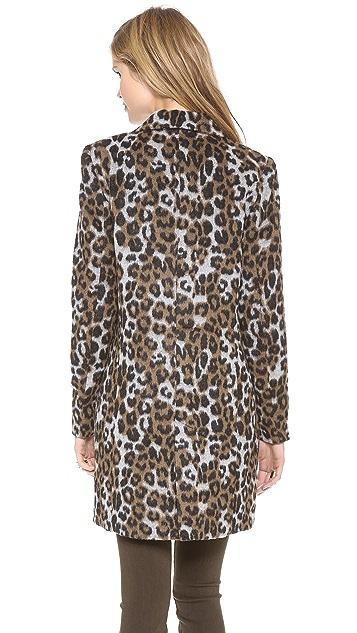 BB Dakota Hazel Leopard Coat