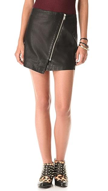 BB Dakota Sebastian Wrap Skirt
