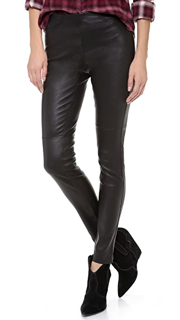 BB Dakota Dakota Collective Ethel Leather Leggings
