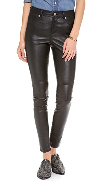 BB Dakota Dakota Collective Lucille Leather Pants