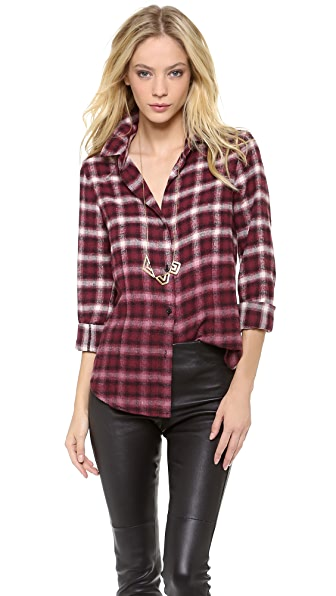 BB Dakota Dakota Collective Jackie Flannel Shirt