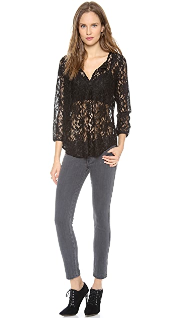 BB Dakota Dawn Lace Top