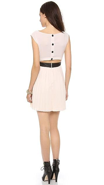 BB Dakota Jean Pleated Dress