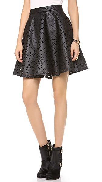 BB Dakota Brian Perforated Skirt