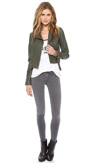 BB Dakota Eliza Zip Off Sleeve Jacket