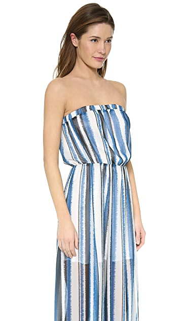 BB Dakota Danae Stripe Maxi Dress