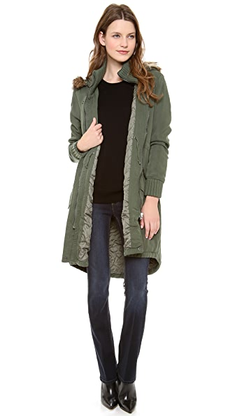 BB Dakota Abby Tencel Coat