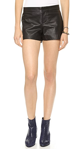 BB Dakota Thekla Leather Shorts