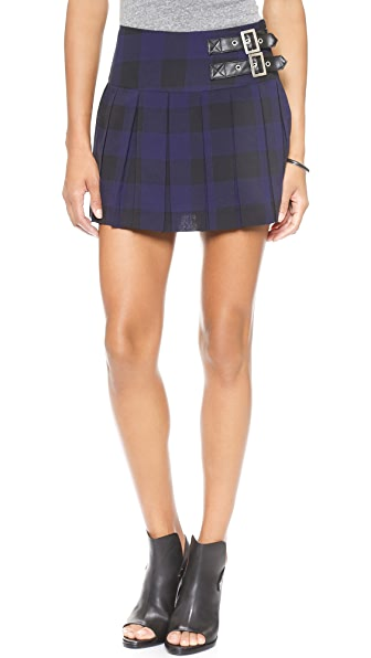 BB Dakota Corvin Pleated Skirt
