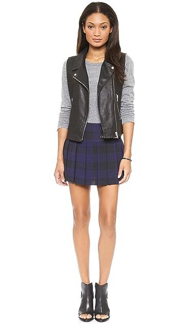 BB Dakota Corvin Pleated Skirt
