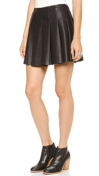 BB Dakota Nynette Pleated Skirt