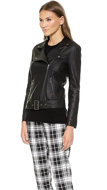 BB Dakota Bettina Leather Jacket
