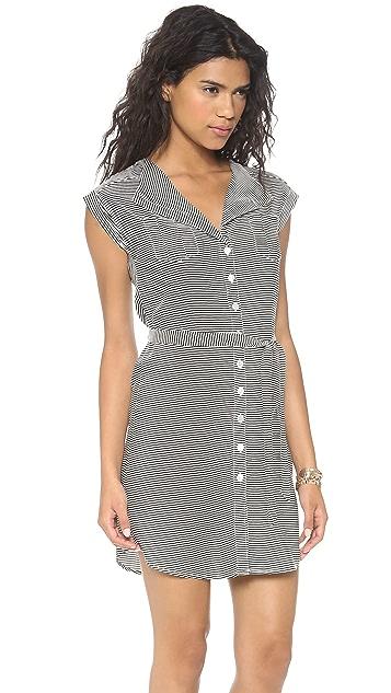 BB Dakota Zanita Striped Dress