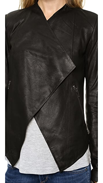 BB Dakota Tyne Leather Jacket