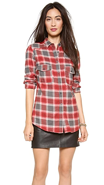 BB Dakota Dakota Collective Sharne Plaid Flannel Shirt