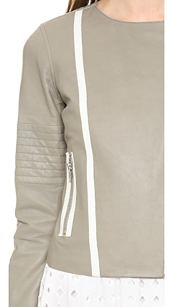 BB Dakota Destin Leather Jacket