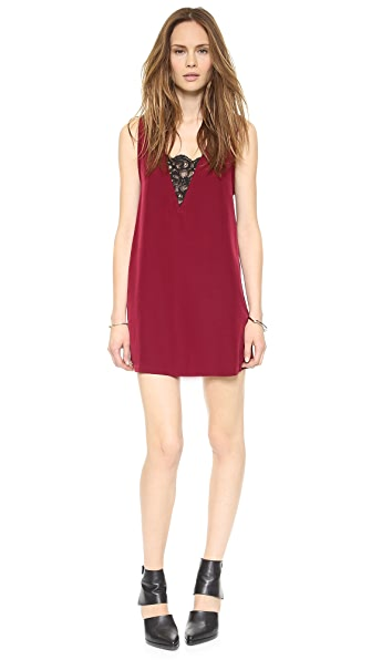 BB Dakota Gracyn Lace Inset Dress