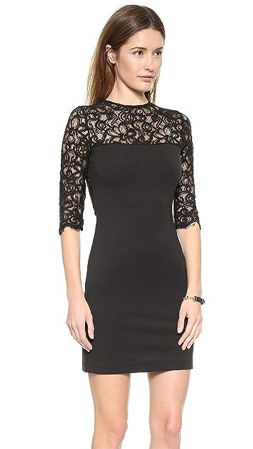 BB Dakota Chevis Lace Dress