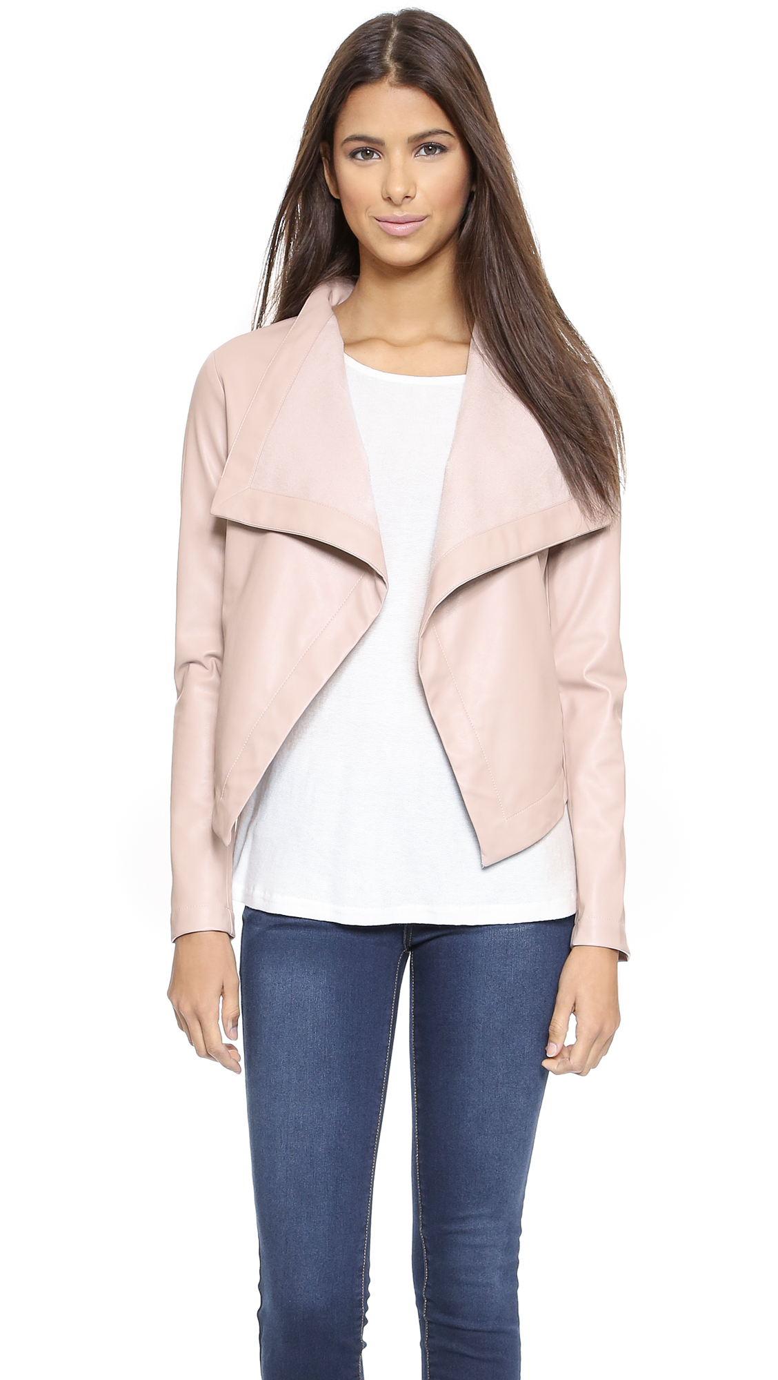 nordstrom jacket vegan image faux drapes product shop rack leather of drape draped blanknyc