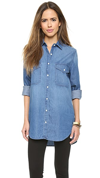 BB Dakota Dakota Collective Marlow Boyfriend Denim Shirt