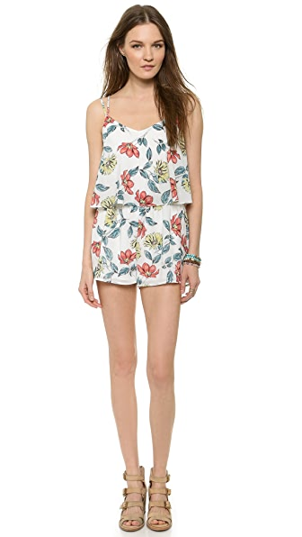 BB Dakota Jack by BB Dakota Havana Desert Rose Romper
