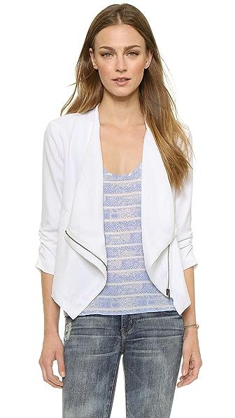 BB Dakota Gael Drape Front Jacket