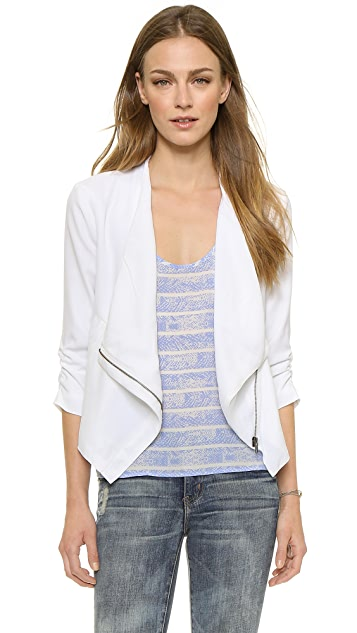 BB Dakota Gael Drape Front Jacket